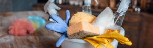 image of cleaning supplies
