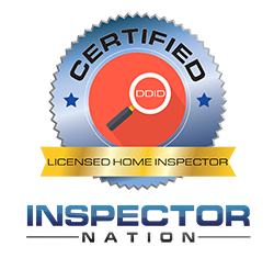 image of licensed home inspector badge